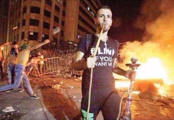 When ISIS attacks but you have already paid for your shisha